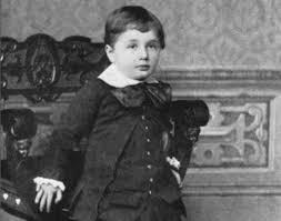 Albert în copilărie